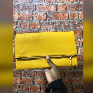 💛 mustang💛 fold over clutch bag